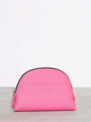 Marc Jacobs Small Dome Cosmetic Toilettaske Vivid Pink