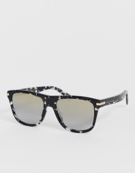 Marc Jacobs square frame sunglasses in grey tort - Grey