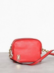 Marc Jacobs The Mini Squeeze Skuldertaske Cayenne