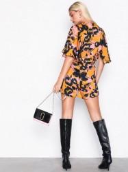 Marc Jacobs Wallet On Chain Skuldertaske Sort/lyserød