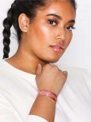 Marc Jacobs Wide Raised Chain Cuff Armbånd Rosa/Lyserød
