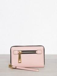 Marc Jacobs Zip Phone Wristlet Pung Rose