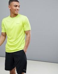 Marmot Active Windridge SS Running T-Shirt in Bright Lime - Yellow