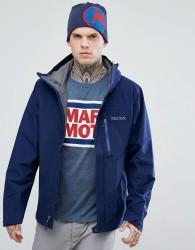 Marmot Minimalist Gore-Tex Hooded Jacket in Navy - Navy