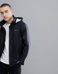 Marmot PreCip Jacket Waterproof With Attached Hood in Black - Black