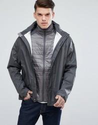 Marmot PreCip Waterproof Hooded Jacket Ripstop in Dark Grey - Grey
