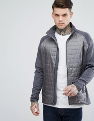 Marmot Variant Quilted Hybrid Jacket in Grey - Grey