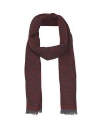 Matinique Kenton 30202356 wool scarf (Mørkerød, ONESIZE)
