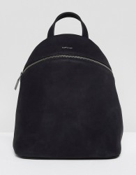 Matt & Nat Aries Black Faux Suede Backpack - Black