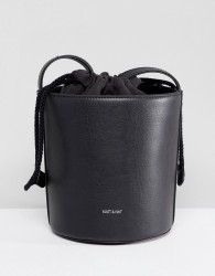 Matt & Nat Bini Structured Bucket Bag - Black