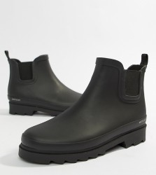 Matt & Nat Chelsea Wellie Boots - Black