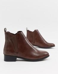 Matt & Nat flat chelsea boots - Brown