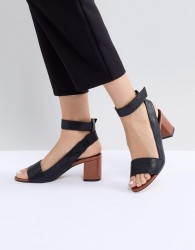 Matt & Nat Gwenn Block Heeled Sandal - Black