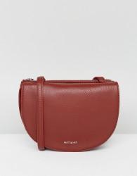 Matt & Nat Saddle Bag in Deep Red - Red