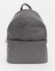 Matt & Nat structured backpack in carbon - Grey
