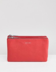 Matt & Nat Triplet Crossbody Bag - Red