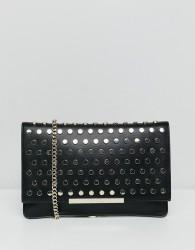 Max&Co Stud Clutch Bag - Black