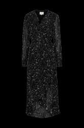 Maxikjole Larvikit Wrap Dress