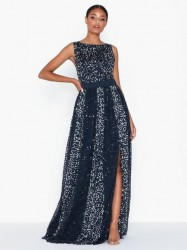 Maya All Over Sequin Maxi Dress Maxikjoler