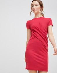 mByM Cross Front Dress - Pink