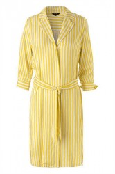 mbyM - Kjole - Britta Anqelina Dress - Lemon Stripe