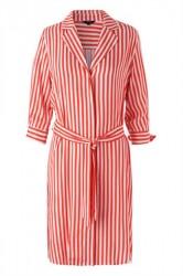 mbyM - Kjole - Britta Anqelina Dress - Tangerine Stripe