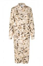 mbyM - Kjole - Eleena Long Sleeve Dress - Rodas Print