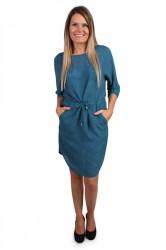 mbyM - Kjole - Heffie Dress - Deep Line Print