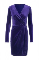 mbyM - Kjole - Madena Rewind Dress - Purple Night