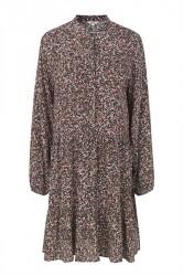mbyM - Kjole - Marranie Dress - Rejina Green Leaf
