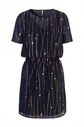 mbyM - Kjole - Oakley Dress - Web Dark Print
