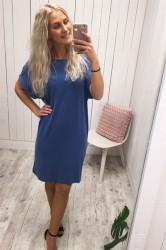 mbyM - Kjole - Rici Rai Dress - Bright Cobalt