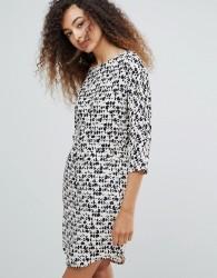 mbyM Printed Shift Dress - Multi