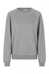 mbyM - Sweatshirt - Myrah Jess Top - Light Grey Melange
