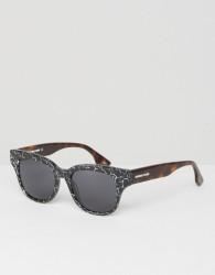 McQ Alexander McQueen Square Sunglasses in Black - Black