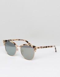 McQ By Alexander McQueen MQ0103SK Retro Sunglasses In Black 56mm - Black
