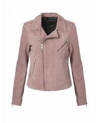 MDK/Munderingskompagniet Bubble Biker Suede Jacket 4545 (Rosa, 36)