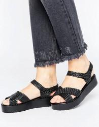 Melissa Salinas Hotness Sandals - Black