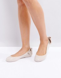 Melissa Space Love Gift Bow Flat Shoe - Copper
