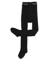 Melton strømpebukser - uld/bomuld
