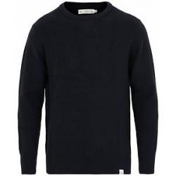 Merz b. Schwanen Merinowool Classic Fit Sweater Dark Navy