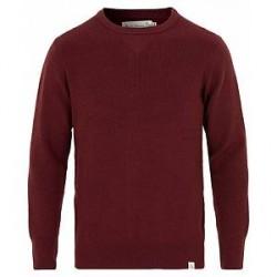 Merz b. Schwanen Merinowool Classic Fit Sweater Red Oak