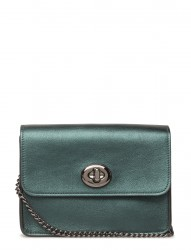 Metallic Leather Bowery Crossbody