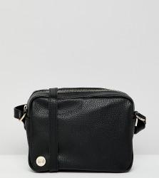Mi-Pac Black Cross Body Bag - Black