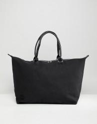 Mi-Pac Canvas Weekender Bag In Black - Black