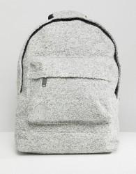 Mi-Pac Felt BackPack in Grey Marl - Grey