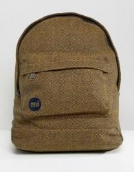 Mi-Pac Herringbone Backpack - Yellow