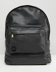Mi-Pac Tumbled Backpack in Black - Black