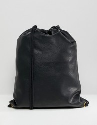Mi-Pac Tumbled Kit Bag in Black - Black