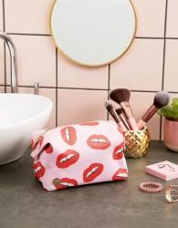 Mi-Pac xTatty Devine Dental Bling Pink Wash Bag - Pink